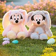 easter mickey mouse disney store mickey and minnie mouse bunny easter