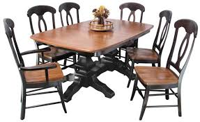 Amish Dining Tables Greene Prairie Woodworks Dining Amish Dining Tables Kingston