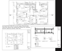 dimensioned floor plan interior design portfolio by nataliya gerasimova at coroflot com