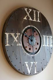 best 25 pallet clock ideas only on pinterest diy clock wall