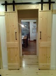 Barn Door For Closet Barn Door Style Closet Doors Home Design Ideas