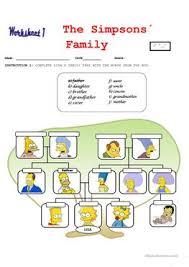 88 free esl simpsons worksheets