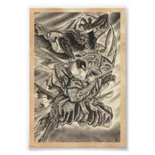 japanese tattoo posters zazzle com au