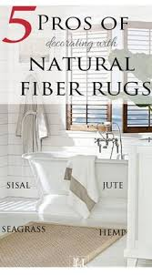 Rug And Tug Great Break Down Of Pros And Cons To Jute Vs Seagrass Vs Sisal