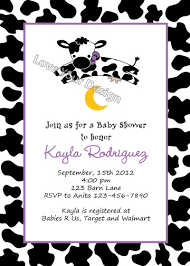 cow jumps the moon baby shower invitation you print jpeg
