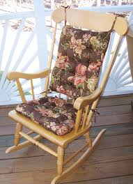 Gripper Chair Pads Bedroom Interesting Cracker Barrel Rocking Chair Cushion With