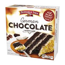 german chocolate layer cake pepperidge farm