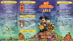 celebrate halloween at disneyland with mickey s halloween party