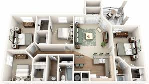 house plans with basement apartments stunning 3d house design with four bedroom basement apartment