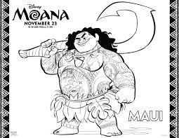 free printable moana coloring pages u0026 activity sheets for kids of