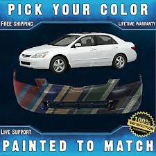 honda accord bumper cover painted to match front bumper cover replacement for 2003