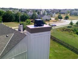 fireplace chimney chase cover replacement cost affordable