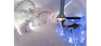 Hotel De Glace Canada by The Coldest Hotel Room In North America Wheretraveler