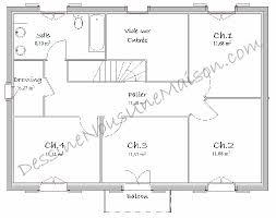 plan de maison a etage 5 chambres plan maison etage 4 chambres gratuit evtod