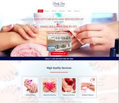 diva nail spa connecticut u2013 best salon websites u2013 nail template