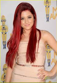 red dip dye auburn hair color and trish mcevoy perfect 3 perfect
