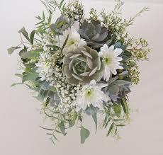 succulent bouquet succulent bouquet yellow gray