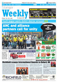 stanger weekly 19 01 17 by kzn local news issuu