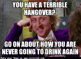 Go On Meme - lol s club laugh out loud s club you have a terrible hangover