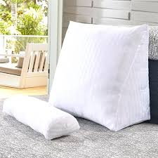 backrest pillow for bed bed rest pillow bed rest pillow removable cover bed pillow covers