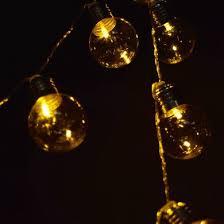 10 led clear plastic light bulb shaped string lights 5 5ft
