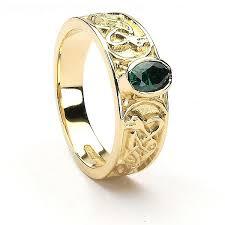 celtic ring unisex celtic ring set silver 10k 14k gold
