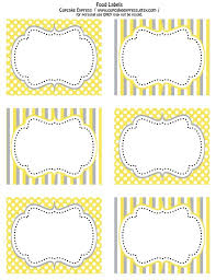 Printable Labels Printable Food Label Best 25 Free Printable Labels Ideas On