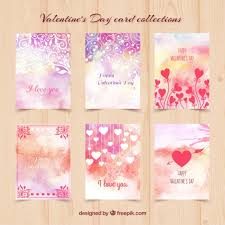 water color cards watercolor day cards vector free