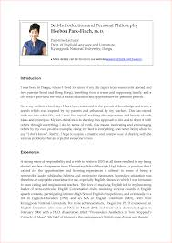 Resume Introduction Sample by Example Resume Introduction Letter Augustais
