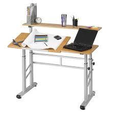 Drafting Table Reviews Safco Adjustable Split Level Drafting Table Walmart