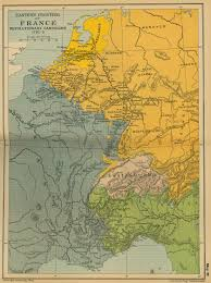 Map Of France And Surrounding Countries by Historical Maps Of France