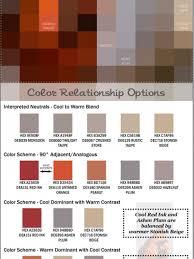 winter color schemes color scheme infographics visual ly