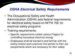 Osha Chair Requirements Electrical Hazard Awareness Training For Non Electrical Workers