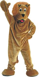 lion costume lion mascot costume school mascot