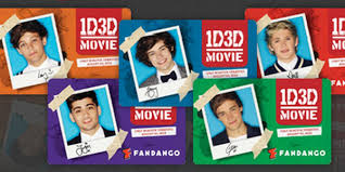 one direction cards 1d fandango gift cards popstar