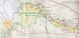 badlands national park map photograph badlands national park travel south dakota