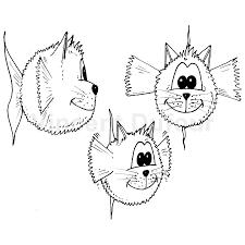coloriage gratuit poisson chat