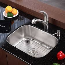 Faucetcom KBU In Stainless Steel By Kraus - Kitchen sink brands