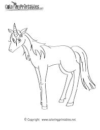 unicorn coloring page a free fantasy coloring printable
