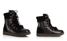 ugg kilmer lace up leather ugg boots bloomingdale s