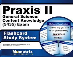 praxis ii general science content knowledge 5435 exam flashcard