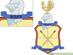 how to a family crest with pictures wikihow