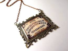how to make halloween jewelry vintage ouija board necklace antique ouija board jewelry