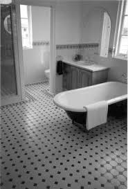 black and white octagon tile bathroom thesouvlakihouse com