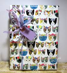 cat gift wrap cat wrapping paper paper table runner 10