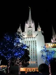 christmas lights san diego christmas lights add to the overall beauty of the lds temple