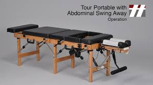 best portable chiropractic table tour portable abdominal swing away operation thuli chiropractic