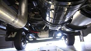 video from underneath dd15 horizontal exhaust system 5 4m 6x4
