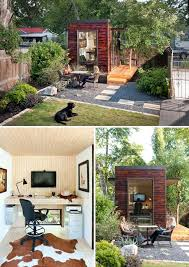 backyard shed office in which you would love to work