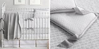 Gray Baby Crib Bedding Neutral Nursery Collections Rh Baby Child